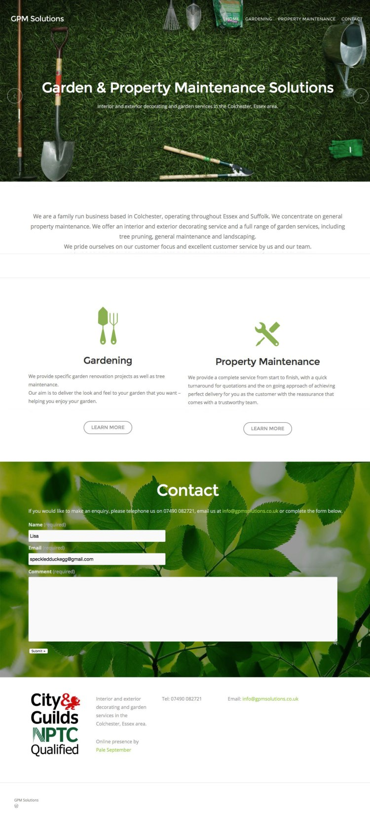 pale_september_web_design_colchester_gpm